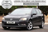 2012 VOLKSWAGEN PASSAT 1.6 SE TDI BLUEMOTION TECHNOLOGY 5d 104 BHP £7681.00