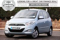 USED 2013 13 HYUNDAI I10 1.2 ACTIVE 5d AUTO 85 BHP +++ FREE 6 months Autoguard Warranty included in screen price +++