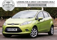 USED 2009 59 FORD FIESTA 1.4 ZETEC 16V 5d 96 BHP +++ FREE 6 months Autoguard Warranty included in screen price +++