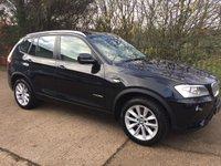 2012 BMW X3 3.0 XDRIVE35D SE 5d AUTO 309 BHP £15995.00
