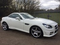 2012 MERCEDES-BENZ SLK 2.1 SLK250 CDI BLUEEFFICIENCY AMG SPORT 2d AUTO 204 BHP £12995.00