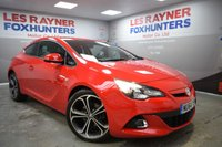 2014 VAUXHALL ASTRA 1.6 GTC LIMITED EDITION CDTI S/S 3d 108 BHP £8999.00