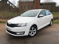 2014 SKODA RAPID 1.6 SPACEBACK SE TDI CR 5d 89 BHP £6490.00