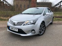 2015 TOYOTA AVENSIS 2.0 D-4D ICON BUSINESS EDITION 4d 124 BHP £10490.00