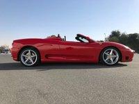 2018 FERRARI 360 360 MODENA F1 AUTO SPIDER CABRIOLET £59950.00