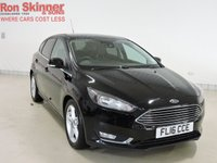 USED 2016 16 FORD FOCUS 1.0 TITANIUM NAVIGATOR 5d 124 BHP with Appearance Pack