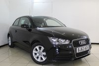 USED 2012 62 AUDI A1 1.2 TFSI SE 3DR 84 BHP BLUETOOTH + AIR CONDITIONING + RADIO/CD + AUXILIARY PORT + 15 INCH ALLOY WHEELS