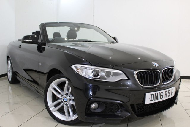 View our 2016 16 BMW 2 SERIES 2.0 220D M SPORT 2DR AUTOMATIC 188 BHP