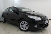 USED 2013 63 RENAULT MEGANE 1.5 EXPRESSION PLUS DCI EDC 3DR AUTOMATIC 110 BHP SERVICE HISTORY + BLUETOOTH + PARKING SENSOR + AUXILIARY PORT + AIR CONDITIONING + 16 INCH ALLOY WHEELS