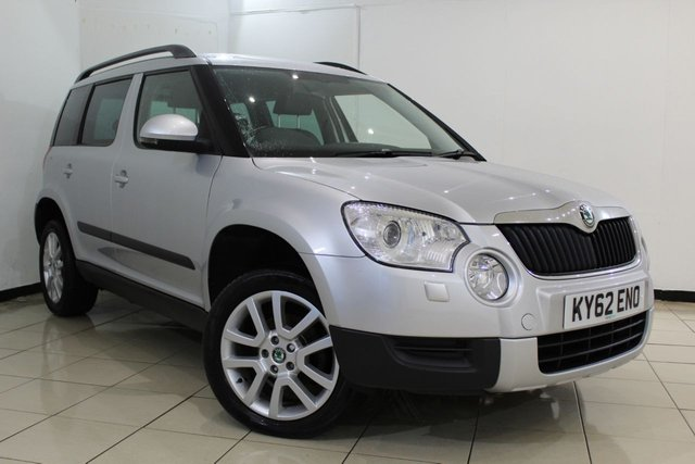 View our 2013 62 SKODA YETI 2.0 ELEGANCE TDI CR 5DR 109 BHP