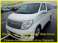 USED 2004 04 NISSAN ELGRAND Highway Star 3.5 Automatic 8 Seats  +66K+POWER CURTAINS+BOSE+