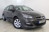 USED 2014 14 VAUXHALL ASTRA 1.7 DESIGN CDTI ECOFLEX S/S 5DR 130 BHP PARKING SENSOR + CRUISE CONTROL + MULTI FUNCTION WHEEL + BLUETOOTH + AIR CONDITIONING + 16 INCH ALLOY WHEELS