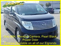 USED 2005 54 NISSAN ELGRAND 3.5 Highway Star Automatic 8 Seats, XENONS, Rear Camera +62K+BLACK 1/2 LEATHER+ADAPTIVE FRONT LIGHTS+
