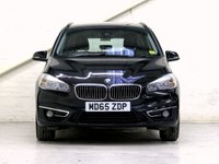 USED 2015 65 BMW 2 SERIES 2.0 218D LUXURY GRAN TOURER 5d 148 BHP [7 SEATS] •LEATHER •NAV •ONE OWNER •FBSH