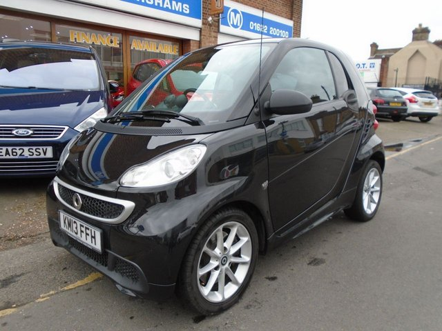 2013 11 SMART FORTWO 1.0 PASSION MHD 2d AUTO 71 BHP