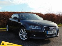 USED 2010 10 AUDI A3 1.6 TDI SPORT 2d CONVERTIBLE * 128 POINT AA INSPECTED *