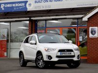 USED 2016 65 MITSUBISHI ASX 2.3 Di-D ZC-H 5dr AUTO (150) 4WD Leather & Pan Roof