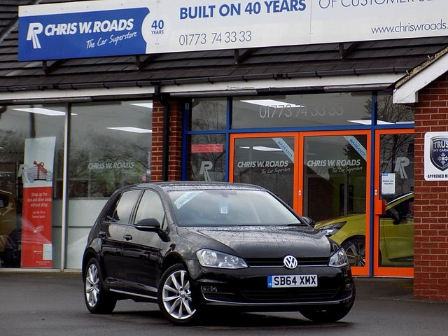 USED 2015 64 VOLKSWAGEN GOLF 2.0 GT TDi BLUEMOTION TECHNOLOGY 5dr (150) * Sat Nav * *Superb Economy & Performance*