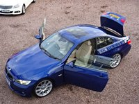 USED 2008 08 BMW 3 SERIES 3.0 335D M SPORT 2d AUTO 282 BHP FSH, BLUETOOTH, VERY CLEAN CAR, A CREDIT TO ITS FORMER OWNER!