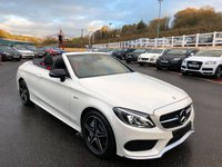2017 MERCEDES-BENZ C 43 AMG CABRIOLET 3.0 Turbo AMG 4Matic 367hp 9G Auto £44999.00
