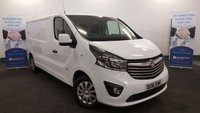 USED 2016 16 VAUXHALL VIVARO 1.6 CDTi 115 BHP 2900 L2H1 SPORTIVE Long Wheel Base with Air Con, Bluetooth, DAB Radio, Cruise *Over The Phone Low Rate Finance Available*   *UK Delivery Can Also Be Arranged*           ___________       Call us on 01709 866668 or Send us a Text on 07462 824433