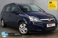 USED 2014 14 VAUXHALL ZAFIRA 1.8 EXCLUSIV 5d 120 BHP FULL SERVICE HISTORY