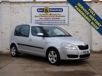 USED 2010 10 SKODA ROOMSTER 1.6 SE 16V 5d AUTO 105 BHP LOW MILEAGE Full Service History + Pan Roof. 0% Deposit Finance Available