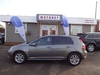 USED 2013 63 VOLKSWAGEN GOLF 1.6 SE TDI BLUEMOTION TECHNOLOGY DSG 5DR  DIESEL AUTOMATIC - £20 ROAD TAX PER YEAR  FREE 12 MONTH WARRANTY UPGRADE
