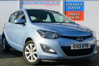 USED 2013 13 HYUNDAI I20 1.2 ACTIVE 5d 84 BHP ONE FORMER KEEPER
