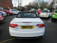 USED 2011 61 AUDI A5 2.0 TDI S LINE 2d 168 BHP 12 MONTHS MOT... 6 MONTHS WARRANTY ...JUST ARRIVED..FULL BLACK LEATHER