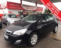 USED 2011 60 VAUXHALL ASTRA 1.4 EXCLUSIV 5d 98 BHP