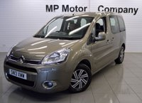 2013 CITROEN BERLINGO MULTISPACE 1.6 E-HDI AIRDREAM VTR EGS 5d 91 BHP WHEELCHAIR ACCESS VEHICLE  £8495.00