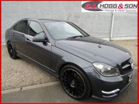 2014 MERCEDES-BENZ C CLASS 2.1 C200 CDI BLUEEFFICIENCY AMG SPORT 4dr AUTO  £13995.00