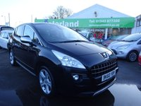 USED 2011 60 PEUGEOT 3008 1.6 EXCLUSIVE HDI 5d 112 BHP ** JUST ARRIVED ** MPV ** PANORAMIC ROOF **