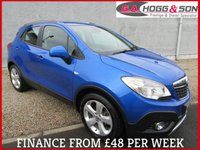 USED 2014 63 VAUXHALL MOKKA 1.7 TECH LINE CDTI S/S 5dr 128 BHP  BLUETOOTH PHONE PREP AND PARKING SENSORS