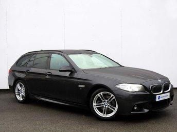 2014 BMW 5 SERIES 2.0 520D M SPORT TOURING 5d AUTO 188 BHP £15995.00
