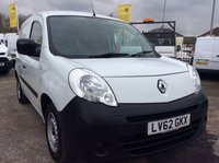 USED 2012 62 RENAULT KANGOO 1.5 ML19 DCI 75 BHP 1 OWNER FSH NEW MOT AIR CON ELEC PACK  FREE AA WARRANTY WITH RECOVERY AND ASSIST AIR CONDITIONING ELECTRIC WINDOWS AND MIRRORS NEW MOT RACKING BLUETOOTH