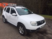 USED 2013 13 DACIA DUSTER 1.5 LAUREATE DCI 5d 107 BHP 6 MONTHS PARTS+ LABOUR WARRANTY+AA COVER