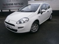 2015 FIAT PUNTO 1.2 POP PLUS 3dr £5980.00