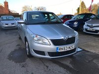 USED 2013 63 SKODA FABIA 1.2 SE 12V 5d 68 BHP NEED FINANCE? WE STRIVE FOR 94% ACCEPTANCE