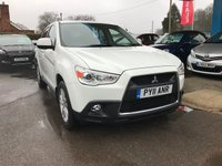 USED 2011 11 MITSUBISHI ASX 1.6 3 5d 115 BHP NEED FINANCE? WE STRIVE FOR 94% ACCEPTANCE