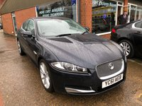 USED 2011 61 JAGUAR XF 2.2 D PREMIUM LUXURY 4d AUTO 190 BHP IN METALLIC DARK BLUE WITH BLACK LEATHER INTERIOR. APPROVED CARS ARE PLEASED TO OFFER THIS JAGUAR XF 2.2 D PREMIUM LUXURY 4d AUTO 190 BHP IN METALLIC DARK BLUE WITH FULL BLACK LEATHER INTERIOR.This car comes with a great spec including (Full) Leather , Air conditioning, Climate control, Electric seats, Heated seats, Parking Sensors (rear), Sat Nav, Cruise control, Alarm, ABS, Alloy wheels, CD player, Electric windows, Metallic paint, Power steering, 2 Keys +, Bluetooth, Central locking with a full service history all Jaguar Main Dealer with 7 st