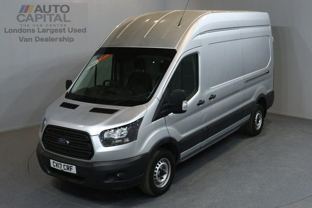 2017 17 FORD TRANSIT 2.0 350 L3 H3 P/V DRW 5d 129 BHP HR LWB RWD EURO 6 ENGINE REAR SENSORS ONE OWNER FROM NEW