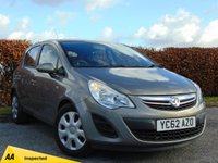 USED 2012 62 VAUXHALL CORSA 1.2 EXCLUSIV AC ECOFLEX S/S 5d * ONE OWNER FROM NEW * IDEAL FIRST CAR *