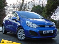 USED 2014 64 KIA RIO 1.2 2 3d **£30 ROAD TAX ** ECONOMICAL**