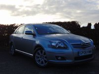USED 2008 08 TOYOTA AVENSIS 1.8 TR VVT-I 5d **12 MONTHS FREE AA MEMBERSHIP**