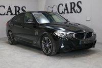 USED 2013 63 BMW 3 SERIES 2.0 318D M SPORT GRAN TURISMO 5d AUTO 141 BHP SAT NAV, FULL BLACK LEATHER, BLUETOOTH, 19 INCH ALLOY WHEELS, FRONT AND REAR PARK DISTANCE CONTROL, HARMON KARDON PREMIUM SOUND, CRUISE CONTROL