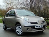 USED 2006 06 NISSAN MICRA 1.2 E 3d 64 BHP JUST BEEN SERVICED, MOT JAN 2019