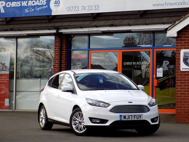 USED 2017 17 FORD FOCUS 1.5 ZETEC EDITION TDCI 5d 118 BHP *ONLY 9.9% APR*