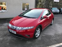 2008 HONDA CIVIC 1.8 SE I-VTEC 5d 139 BHP £2695.00